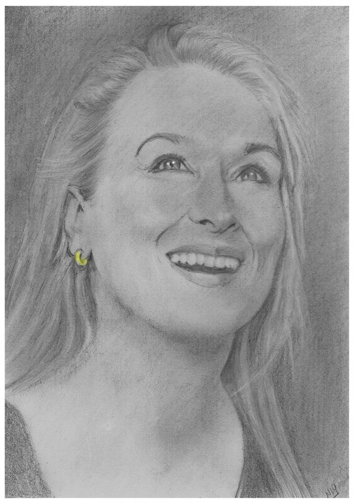 Meryl Streep by nev777